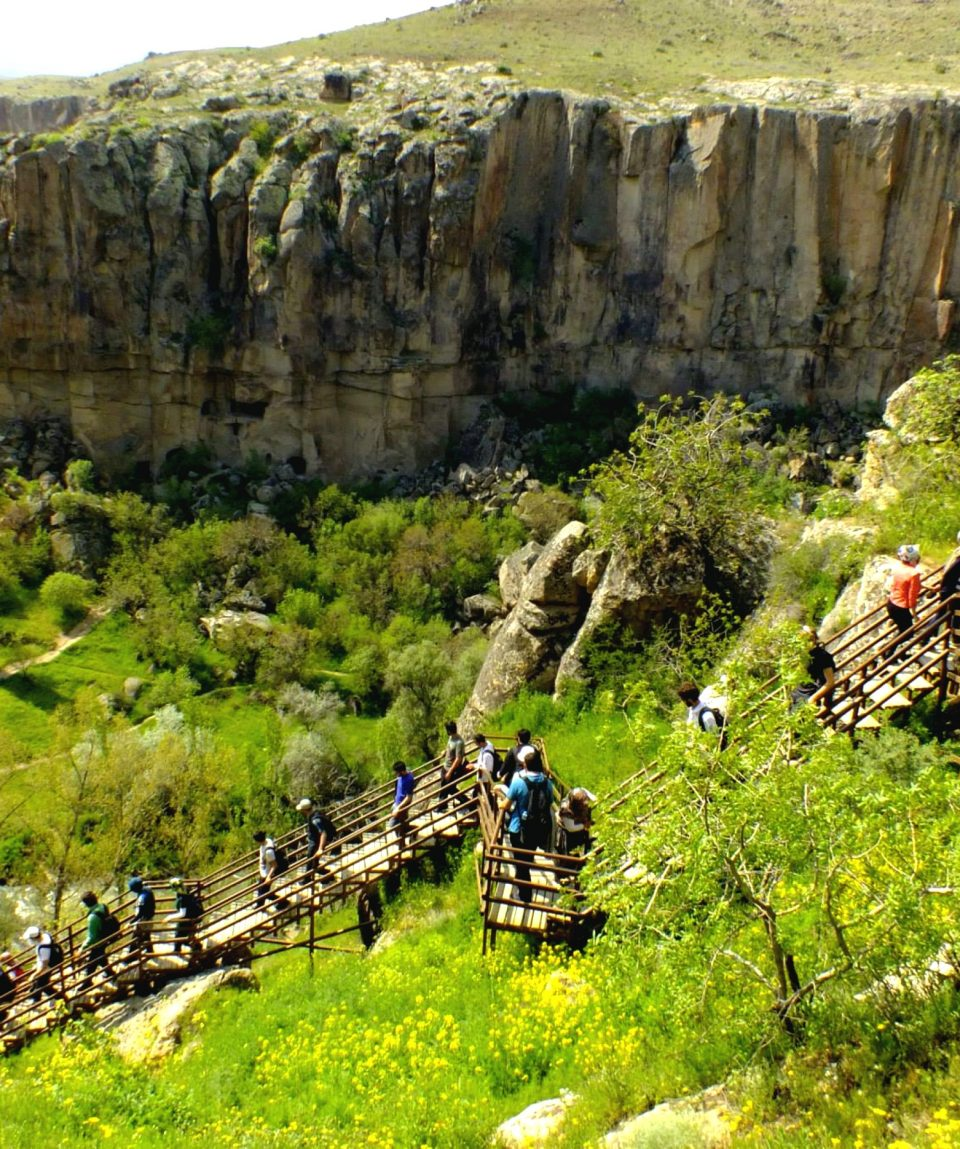 Ihlara-vadisi-merdivenleri